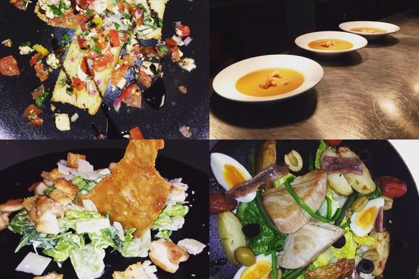 Mange tout savoury dishes