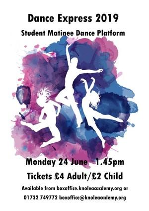 Dance express poster 2019