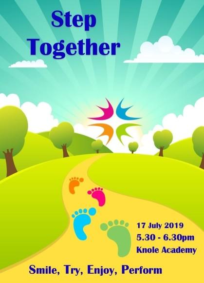 Step together flyer 17 july 2019