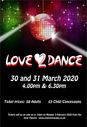 Love 2 dance show 2020 poster final