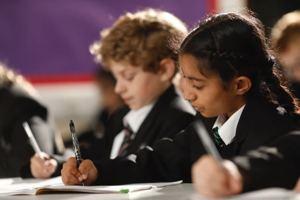 Img 259 black uniform writing class shot sept 2019
