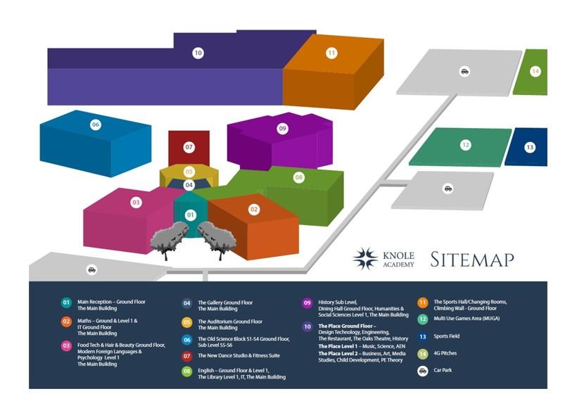 Knole academy sitemap final vsn january 2021