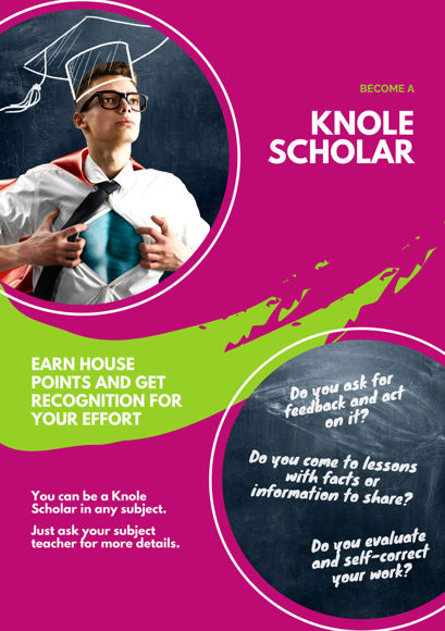 Knole scholar poster